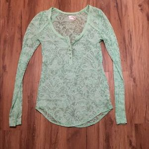 Woman's Free People Long Sleeve